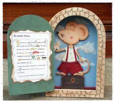 Miniaturas en mi mundo: El ratoncito Pérez