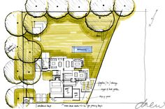 gallery of drew' residential projects House Floor Plans, Modern Farmhouse, Architects, How To Plan, Gallery, Log Projects, Houses, Home Plants