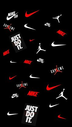 Hypebeast Iphone Wallpaper, Dope Wallpaper Iphone, Supreme Iphone Wallpaper, Apple Wallpaper, Galaxy Wallpaper, Black Nike Wallpaper, Cool Nike Wallpapers, Jordan Logo Wallpaper, Sneakers Wallpaper