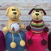 Куклы и игрушки ручной работы. Ярмарка Мастеров - ручная работа Собаки-малютки игрушки вязаные крючком. Handmade.