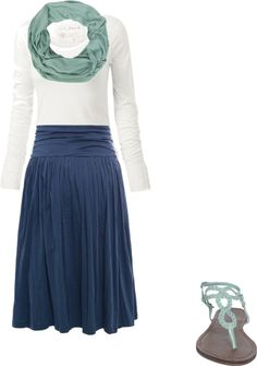 """Untitled #58"" by adriannegaliher on Polyvore- different shoes and this could be a work outfit!"