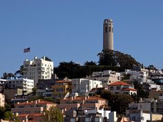pictures+of+san+francisco   ... tower on telegraph hill in san francisco taken from fishermans wharf