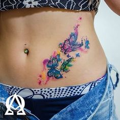 watercolor butterfly tattoo - Google Search
