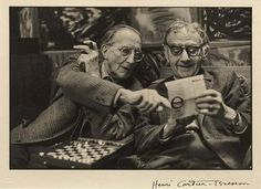 Marcel Duchamp and Man Ray 1968