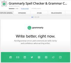 Crea y aprende con Laura: Gramarly. Escribir correctamente inglés en la web