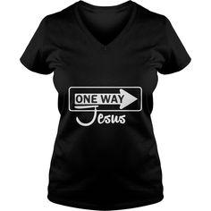 One Way Jesus shirts