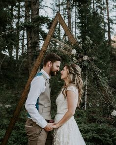 our ceremony backdrop mimicked the mountain views at our Canadian Mountain Love retreat in Canmore, Alberta Wedding Sand, Rose Wedding, Wedding Decor, Wedding Confetti, Ceremony Backdrop, Groom Style, Industrial Wedding, Rocky Mountains, Love Fashion