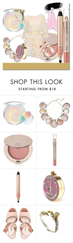 """""""of the youth"""" by annabellispeterson ❤ liked on Polyvore featuring Physicians Formula, Paolo Costagli, Jane Iredale, Elie Saab, tarte, Olympia Le-Tan, Miu Miu and Tessa Metcalfe"""