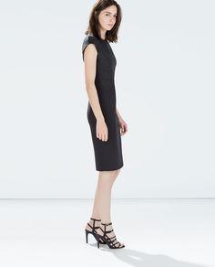 ZARA - WOMAN - STRAIGHT DRESS WITH SEAMS