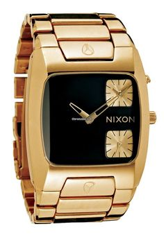 Nixon The Banks All gold/Black Men´s Watch $516 #Nixon #watch #watches #chronograph