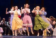 """Zaneeta Shinn and the ensemble ladies in """"The Music Man""""! So cute!"""