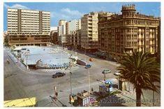 Lote 4778959: Bonita postal: La Coruña. Plaza de Pontevedra . Editada en el año 1972 Plaza, Madrid, Street View, Country, Antiques, City, Outdoor Decor, Travel, Beautiful
