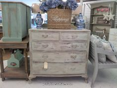 Paint Me White: New Pieces Vintage Furniture, Wicker, Dresser, Shabby, Room, Annie Sloan, Painting, Beautiful Things, Clever