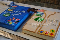I made this cake for the Girl Scout Bridging/Fly-up ceremony.  All patches are hand painted fondant.