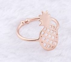 Pineapple Ring Rosegold
