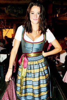 Shailene Woodley during the Oktoberfest at Kaeferschaenke at Theresienwiese on September 20, 2016 in Munich, Germany.