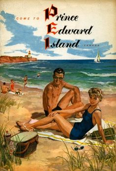 Brochure from 1953 for Prince Edward Island.