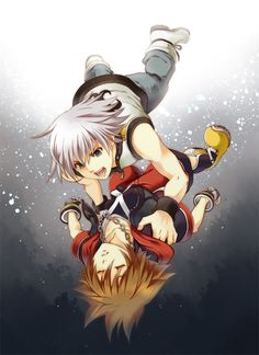 Riku:Sora wake up don't chase your dreams they lead you to nowhere!