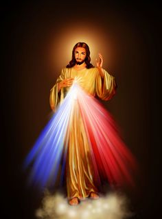 Jesús, en Ti confío - Jesucristo - Luces - Nubes - Reflexiones