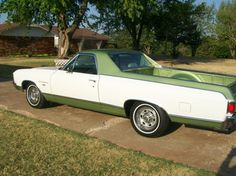 1972 Chevrolet El Camino Maintenance/restoration of old/vintage vehicles: the material for new cogs/casters/gears/pads could be cast polyamide which I (Cast polyamide) can produce. My contact: tatjana.alic14@gmail.com