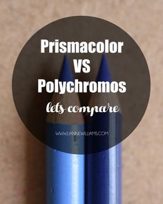 Prismacolor Artist Color Pencils versus Polychromos Colour Pencils
