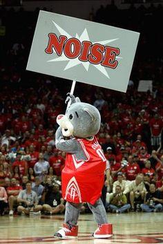 Clutch the Bear, Houston Rockets