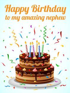 To My Amazing Nephew