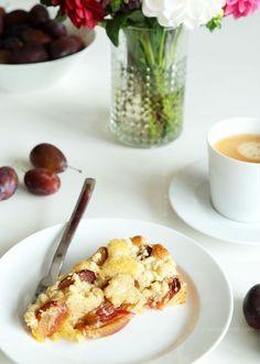 Rezept: saftiger Pflaumenkuchen mit Streuseln | cake recipe | waseigenes.com