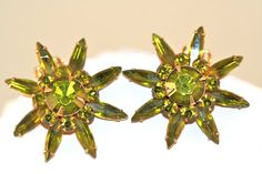 Vintage Brooch and Earrings Set  Judy Lee by SVintageCollection