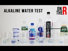 Is the bottled water you are drinking acidic or alkaline? We tested Poland spring, Fiji, Smart water, Essentia tap water and even B. Ph Water, Bottled Water, Water Bottle, Science Fair Projects, Science Experiments, Kangen Water Machine, Water Ionizer, Water Filtration System, Camper Renovation