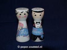 Ritzenhoff, Mrs. Pepper en Mr. Salt, Roberta Tinelli, peper en zoutstel, verzamelen, verzameling