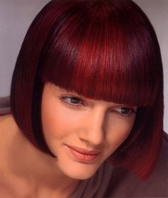 When I cut my hair off, this will be the style. Hair. Cut and color. So sexy!