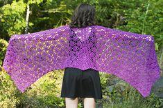 Eminence Shawl: free crochet Pattern