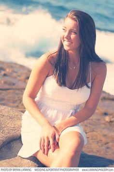 VIP Senior Portraits - La Jolla Beach. California girl.