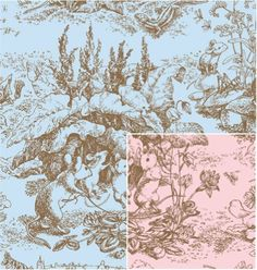 "Baby Toile, Reversible, 24x100 Roll Gift Wrap by Shamrock Gift Wrap. $45.46. 24""x100' roll gift wrap. Shipped in a storage box."