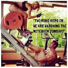 Tip of the day: find a fitness partner who will motivate you to DO MORE.  <3 this!!!!!!
