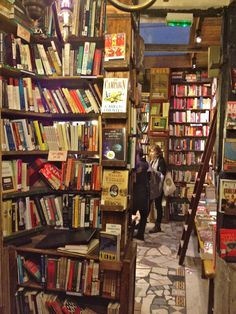 Buy a book (or several) at Shakespeare and Company in Paris