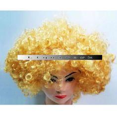 Blonde Blond Curly Lady Gaga Halloween Cosplay Costume Wig Store SKU-158004