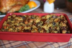 MUSHROOM AND CHALLAH STUFFING   How To Do Thanksgiving On A $50 Budget