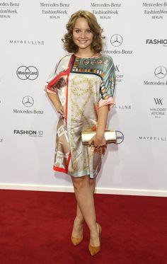 Pin for Later: Die Stars machen Berlin zum Mode-Mekka bei der Fashion Week Sonja Gerhardt bei der Schau von Marc Cain