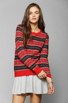 Coincidence & Chance Classic Fair Isle Sweater #urbanoutfitters