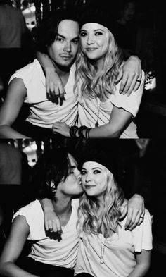 Caleb and Hanna from PRETTY LITTLE LIARS