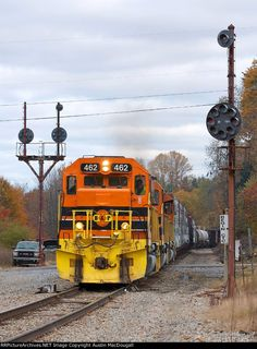 SIRI-16   Description:    Photo Date:  10/16/2012   Location:  Mount Jewett, PA   Author:  Austin MacDougall  Categories:    Locomotives:  BPRR 462(SD40-3) BPRR 3064(SD40-3) BPRR 458(SD45-2)