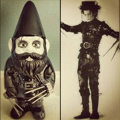 Hey, I found this really awesome Etsy listing at https://www.etsy.com/listing/196021200/the-edward-scissorhands-gnome