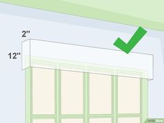 Create Window Valances from Cardboard Boxes - Cardboard Box , Create Window Valances from Cardboard Boxes Image titled Create Window Valances from Cardboard Boxes Step 1 Home. Window Valance Box, Window Pelmets, Pelmet Box, Curtain Pelmet, Valance Window Treatments, Diy Curtains, Window Coverings, Drapery, Cardboard Storage