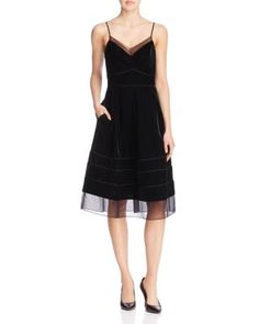 Timo Weiland Tennessee Sheer Panel Dress - 100% Bloomingdale's Exclusive…