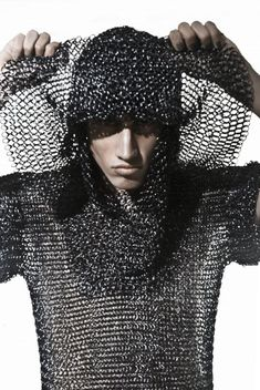 This cloth was inspired by middle ages when guys wear to war. It was to protect them from getting hurt on the field.