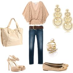 pale and casual, created by afrey12 on Polyvore