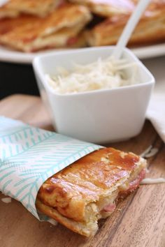 Try this quick and easy ham and cheese melt for a delicious lunch or weeknight meal. Customize the recipe with your favorite fillings!