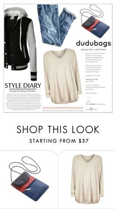 """""""dudubags"""" by water-polo ❤ liked on Polyvore featuring LE3NO, J.Crew, DUDU, River Island, Envi, polyvoreeditorial and dudubags"""